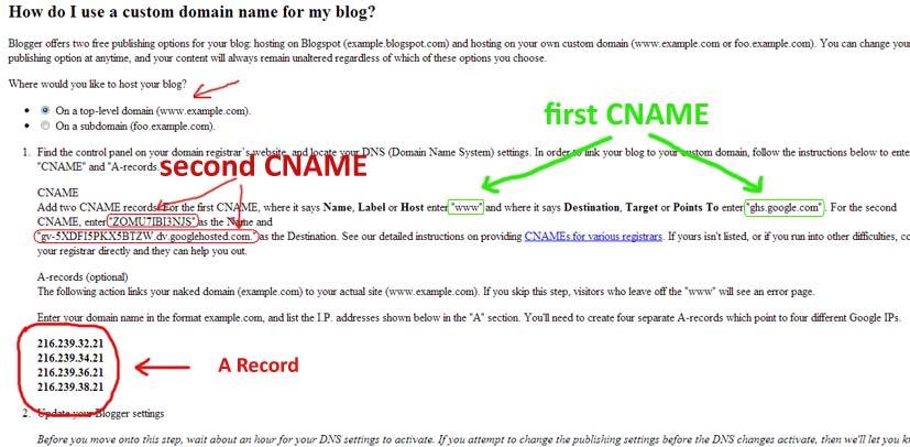 cara merubah blogspot menjadi .com2