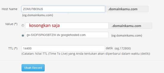 cara merubah blogspot menjadi .com7